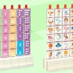 Puzzle 3D litere si cifre 6