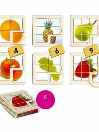 Fructe - puzzle