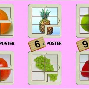 Fructe - puzzle 6
