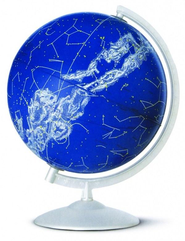 Glob geografic pamantesc iluminat Stelare Perla 3