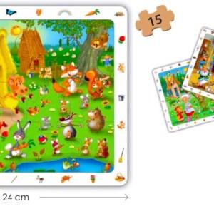 Puzzle 4 in 1 - Povesti Clasice 15