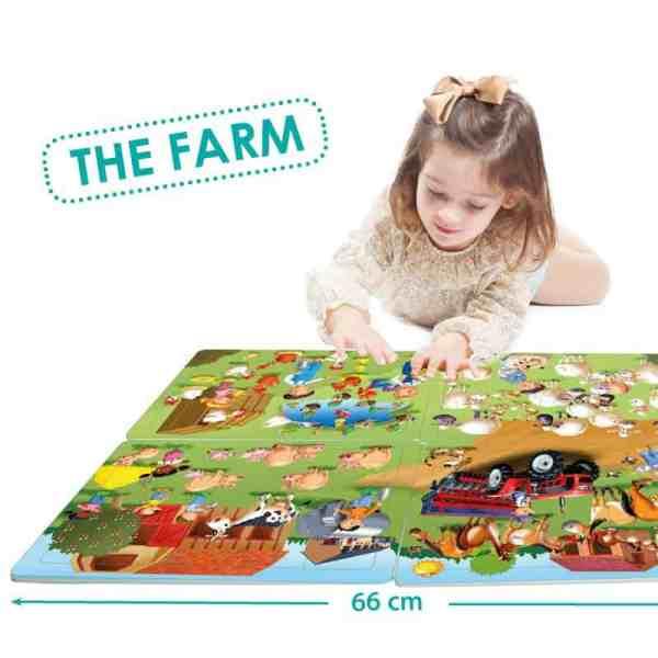 Puzzle 4 in 1 - La Ferma 3