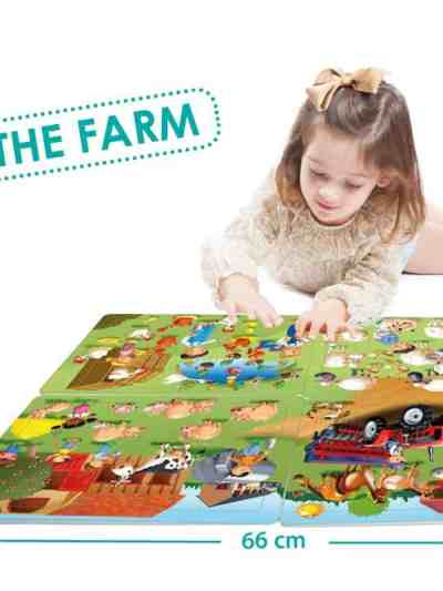 Puzzle 4 in 1 - La Ferma