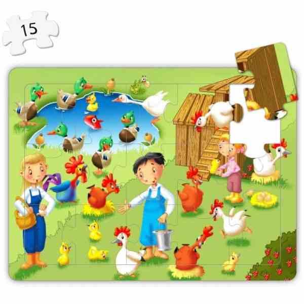 Puzzle 4 in 1 - La Ferma 5