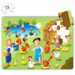 Puzzle 4 in 1 - La Ferma 11