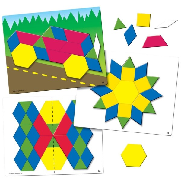 Joc Tangram - Modele si sabloane 4