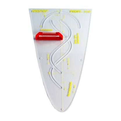 Sablon parabola pentru tabla scolara