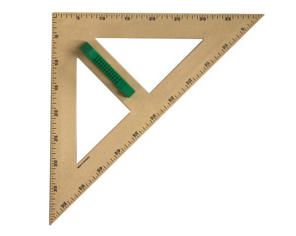 Trusa de instrumente geometrice pentru tabla RE-Wood® 6