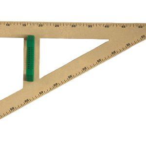 Trusa de instrumente geometrice pentru tabla RE-Wood® 12