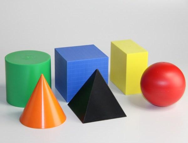 Forme geometrice colorate 3
