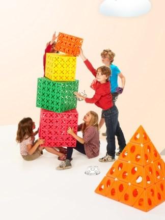 Set de constructie creativa Triqo