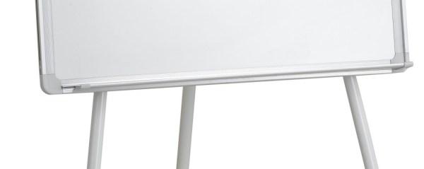 Flipchart whiteboard magnetic 10