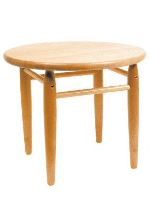 Masuta din lemn rotunda