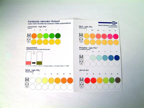 Analiza apei - Trusa cu reactivi 5
