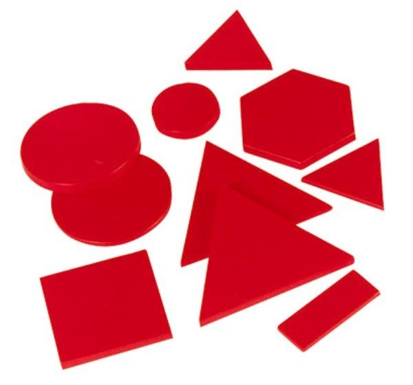 Forme geometrice din plastic 7