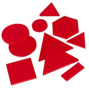 Forme geometrice din plastic 13