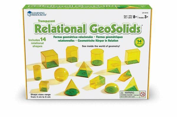 Forme geometrice GeoSolids - 14 piese 4