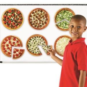 Pizza fractiilor cu magneti 9