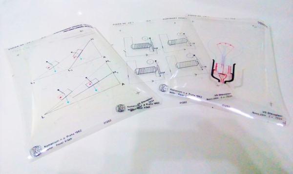 Set folii retroproiector FIZICA 2