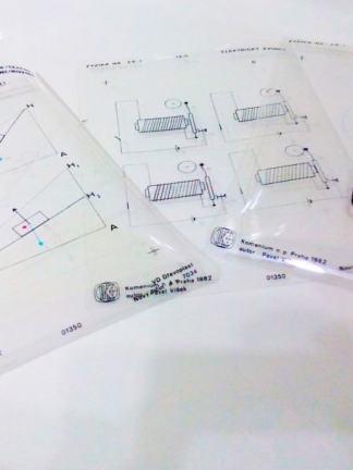 Set folii retroproiector FIZICA