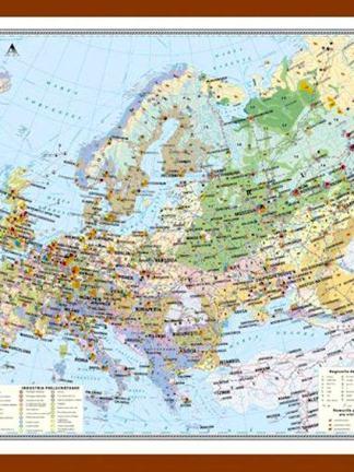 Europa. Harta economica