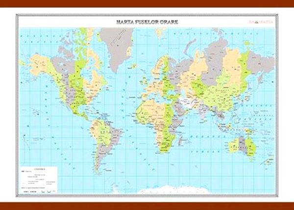 Harta fuselor orare 3