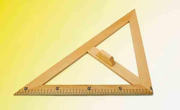 Echer de 45° - lemn 3