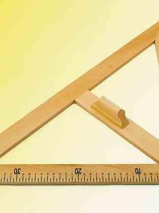 Echer de 45° - lemn
