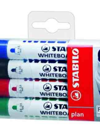 Marker tabla alba Plan 4 culori