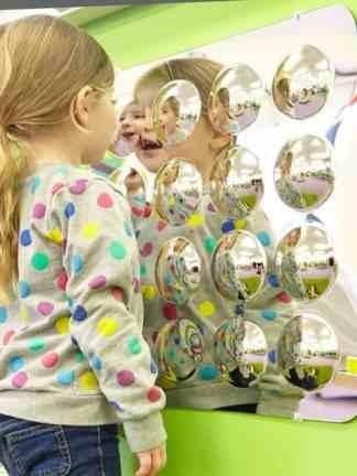 Panou oglinda cu 16 oglinzi convexe