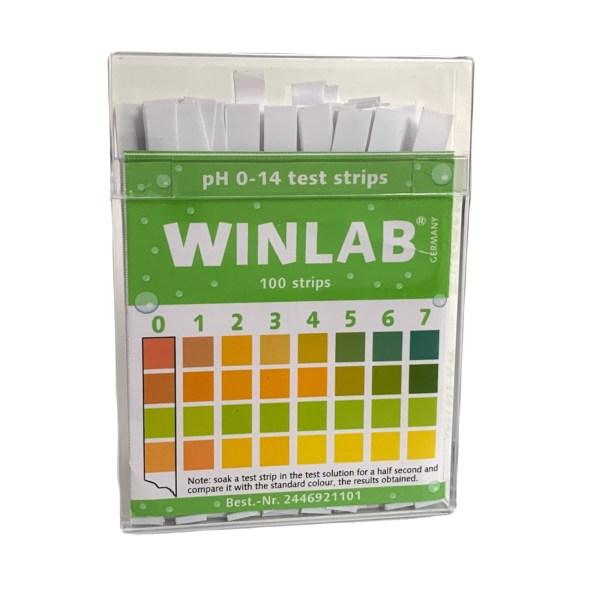 Benzi pentru testarea nivelului pH 6
