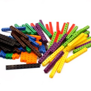 Cuburi colorate asamblabile 1000 buc. 20