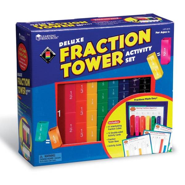 Turnul fractiilor Deluxe - set activitati 7