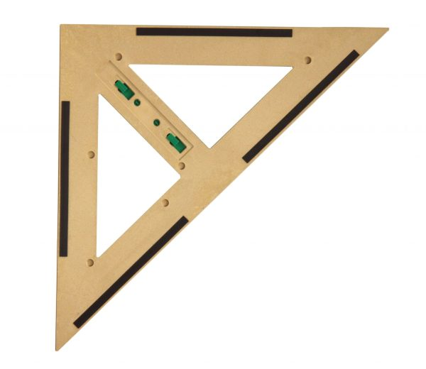 Trusa de instrumente geometrice Magnetice pentru tabla din lemn reciclat 5