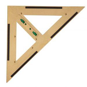 Trusa de instrumente geometrice Magnetice pentru tabla din lemn reciclat 10