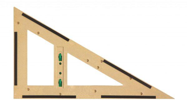 Trusa de instrumente geometrice Magnetice pentru tabla din lemn reciclat 6