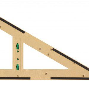 Trusa de instrumente geometrice Magnetice pentru tabla din lemn reciclat 11