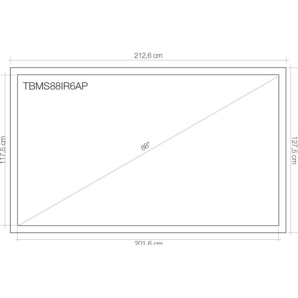Tabla interactiva TouchBoard 88 7