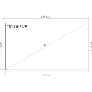 Tabla interactiva TouchBoard 88 11
