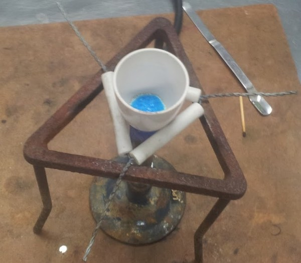 Triunghi de sarma cu inele ceramice 3