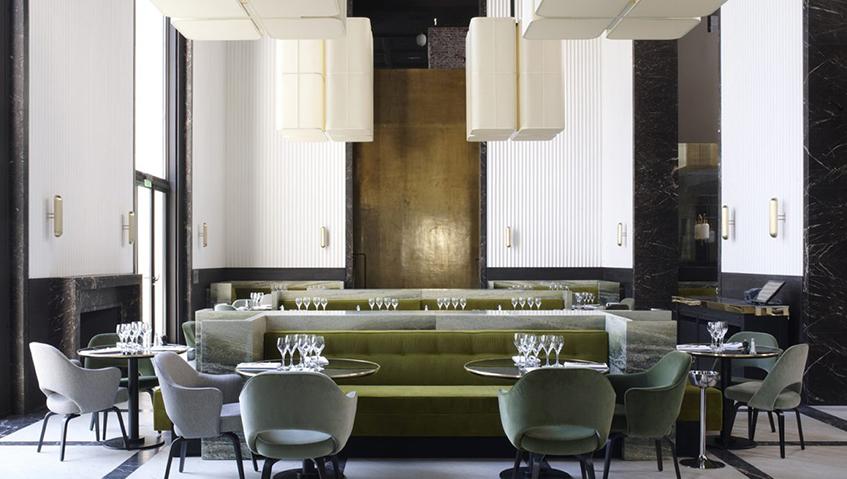 "alt=""Interior design anni 30 - Retail - Joseph Dirand - Monsieur Bleu"""