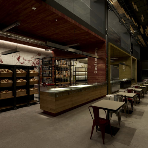 "alt=""architects-party-laboratorio-quattro-pan-bon-retail-design-gastronomia"""
