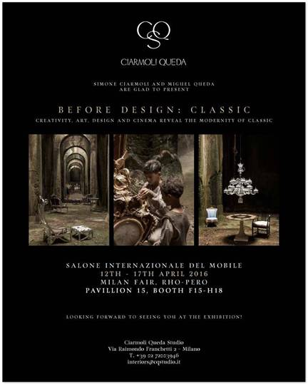 "alt=""architettialsalone2016-lifestyle-milano-beforedesignclassic-ciarmoli-queda-matteogarrone"""