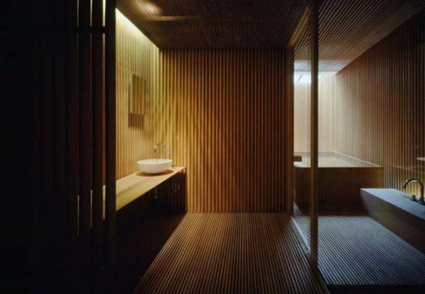 "alt=""architettura-benessere-SPA-relax-hotel-ginzan-onsen-kengo-kuma-agape"""