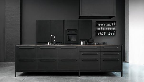"alt=""bianco-nero-design-vippblack-cucina-nera"""