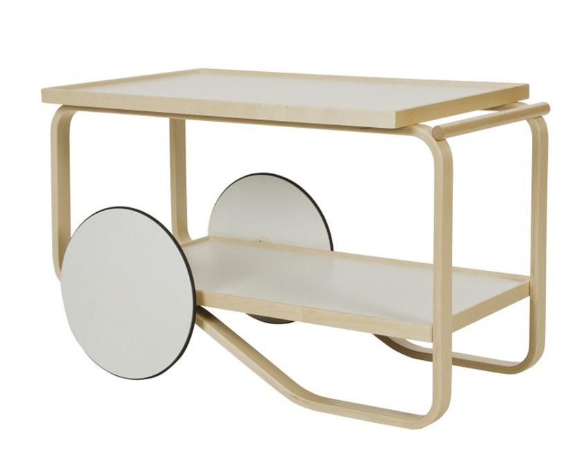 """alt=""""Carrelli - Alvar Aalto - Artek - 1936 - Tea trolley"""""""