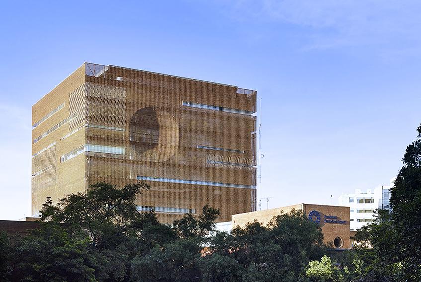 """alt=""""Ospedale universitario Santa Fè - progetto di Equipo Mazzanti - Bogotà, Colombia"""""""