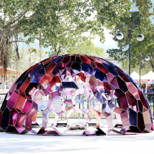 "alt=""cupola-metallo-architettura-laab-architects-hong-kong-exhibition-design"""
