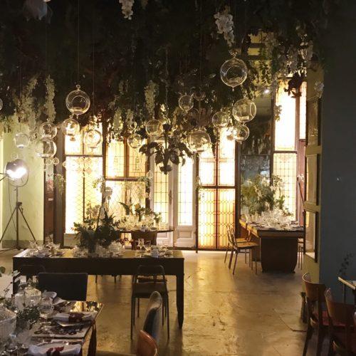 "alt=""greeendesign-flowerdesign-antoniomarras-ristorante-salone2017"""