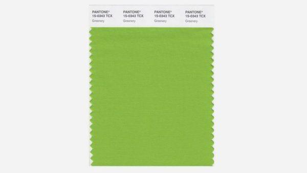 "alt=""tendenzecolore-pantone-2017-greenery-tessuto"""